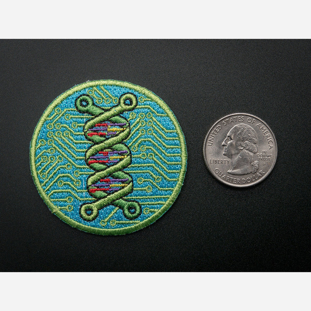 Biohacking- Skill badge, iron-on patch