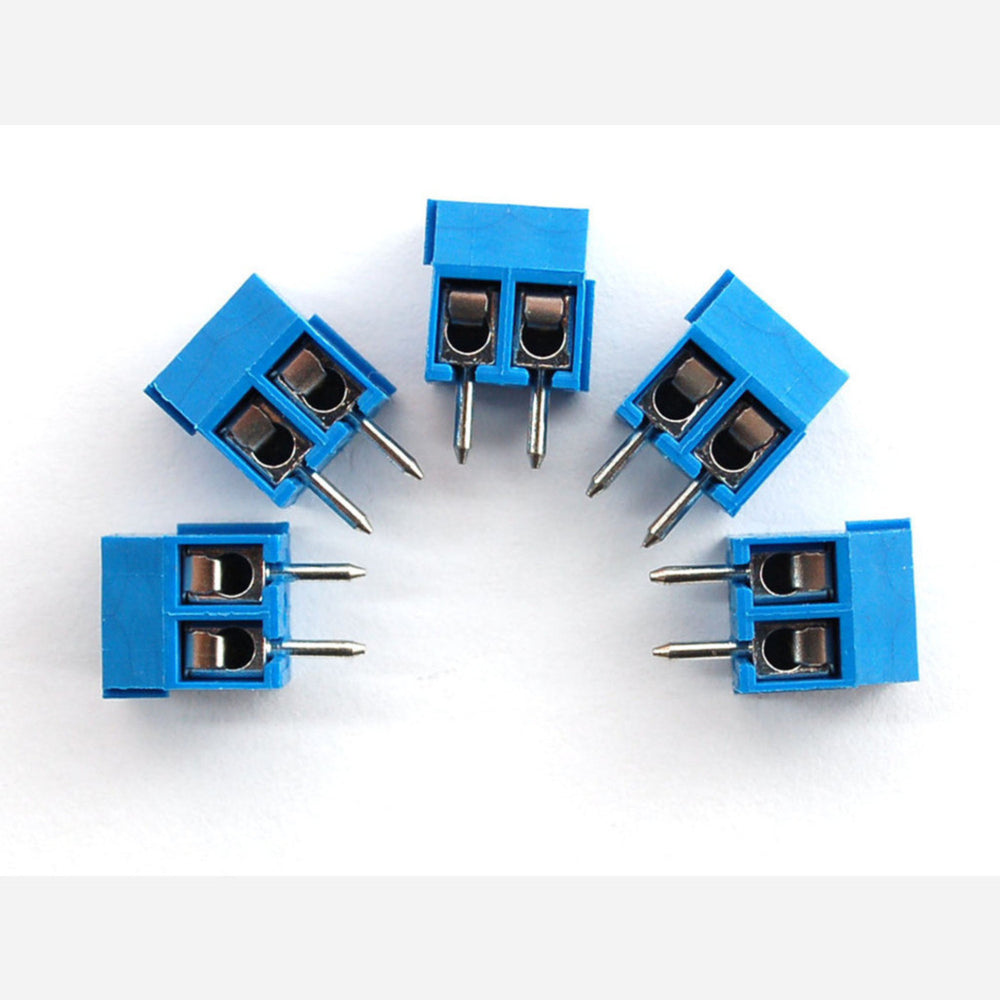 Terminal Block - 2-pin 3.5mm - pack of 5!