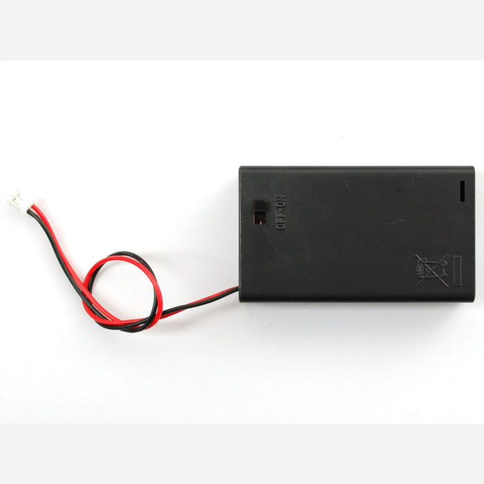 3 x AAA Battery Holder with On/Off Switch and 2-Pin JST