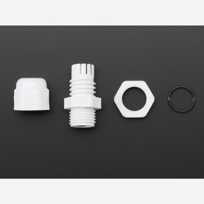 Cable Gland PG-7 size 0.118 to 0.169 Cable Diameter [PG-7]