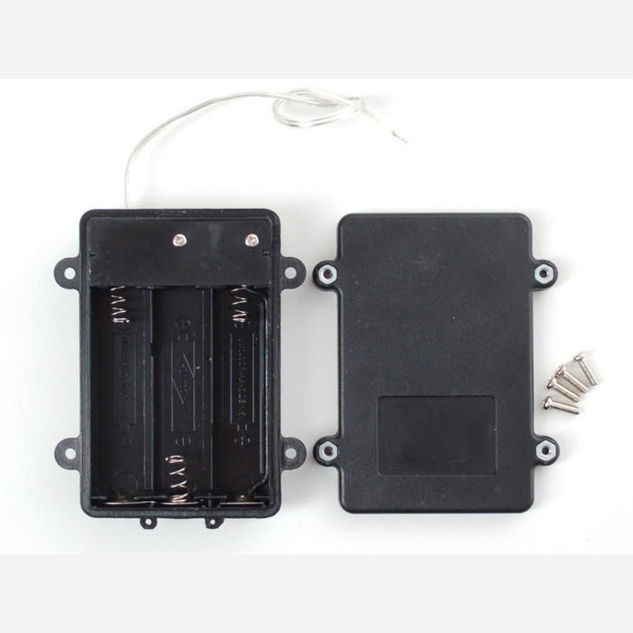 Waterproof 3xAA Battery Holder with On/Off Switch