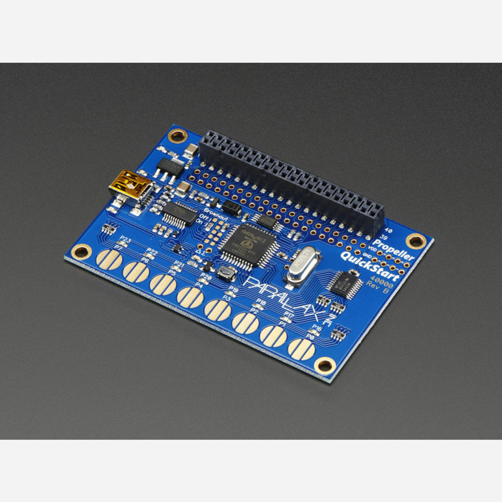 Parallax Propeller Quickstart USB Development Board