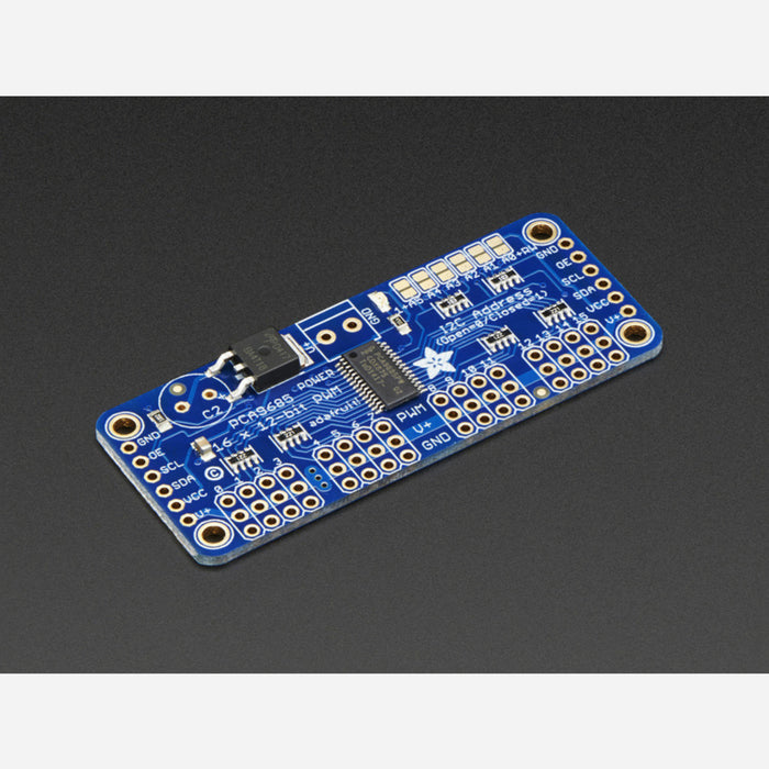 Adafruit 16-Channel 12-bit PWM/Servo Driver - I2C interface [PCA9685]