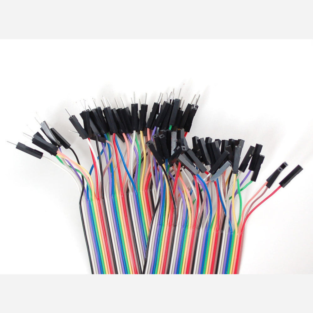 Premium Female/Male 'Extension' Jumper Wires - 40 x 12 (300mm)