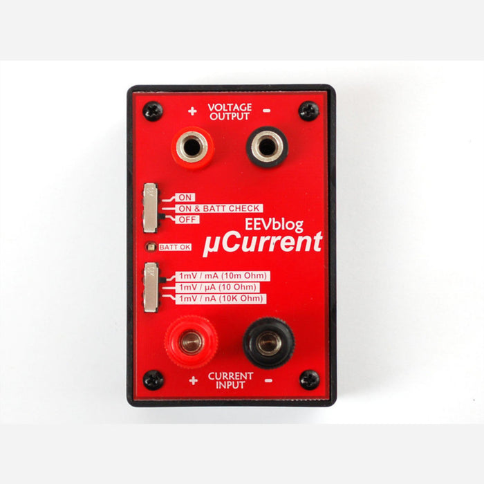 EEVblog uCurrent - Precision nA Current Measurement Assistant [v3]