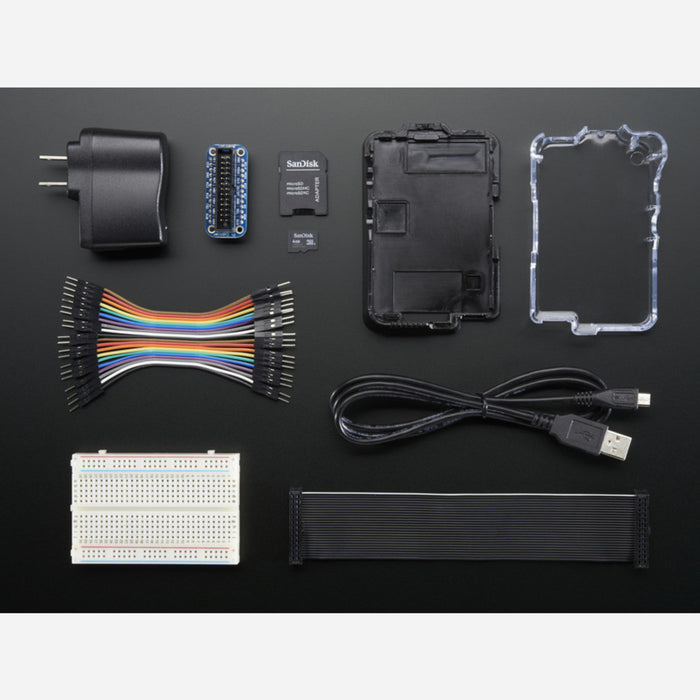 Budget Pack for Raspberry Pi 1 Model B (Doesn't include RasPi)
