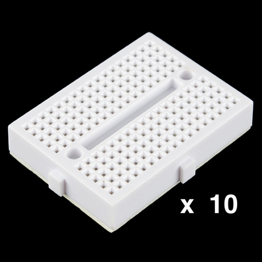 Bulk 10 x Breadboard - Mini Modular (White)