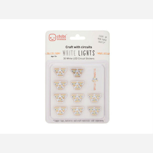 White LEDs MegaPack (30 stickers)