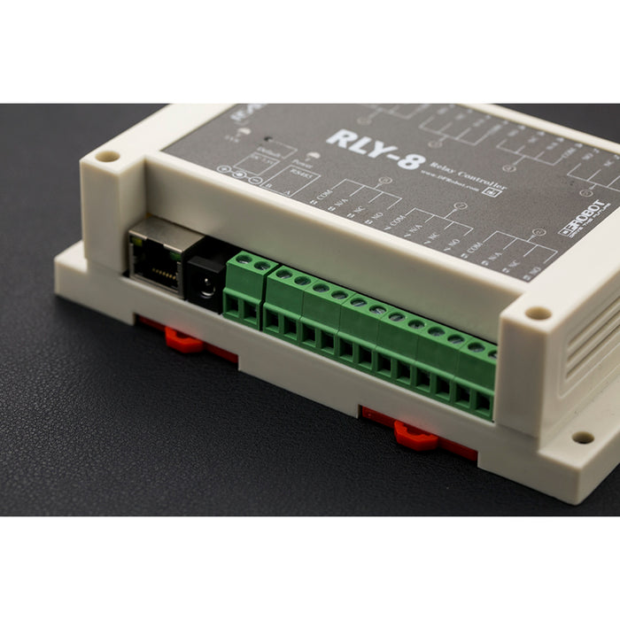 8 Channel IoT Ethernet Relay Controller (Support PoE and RS485)