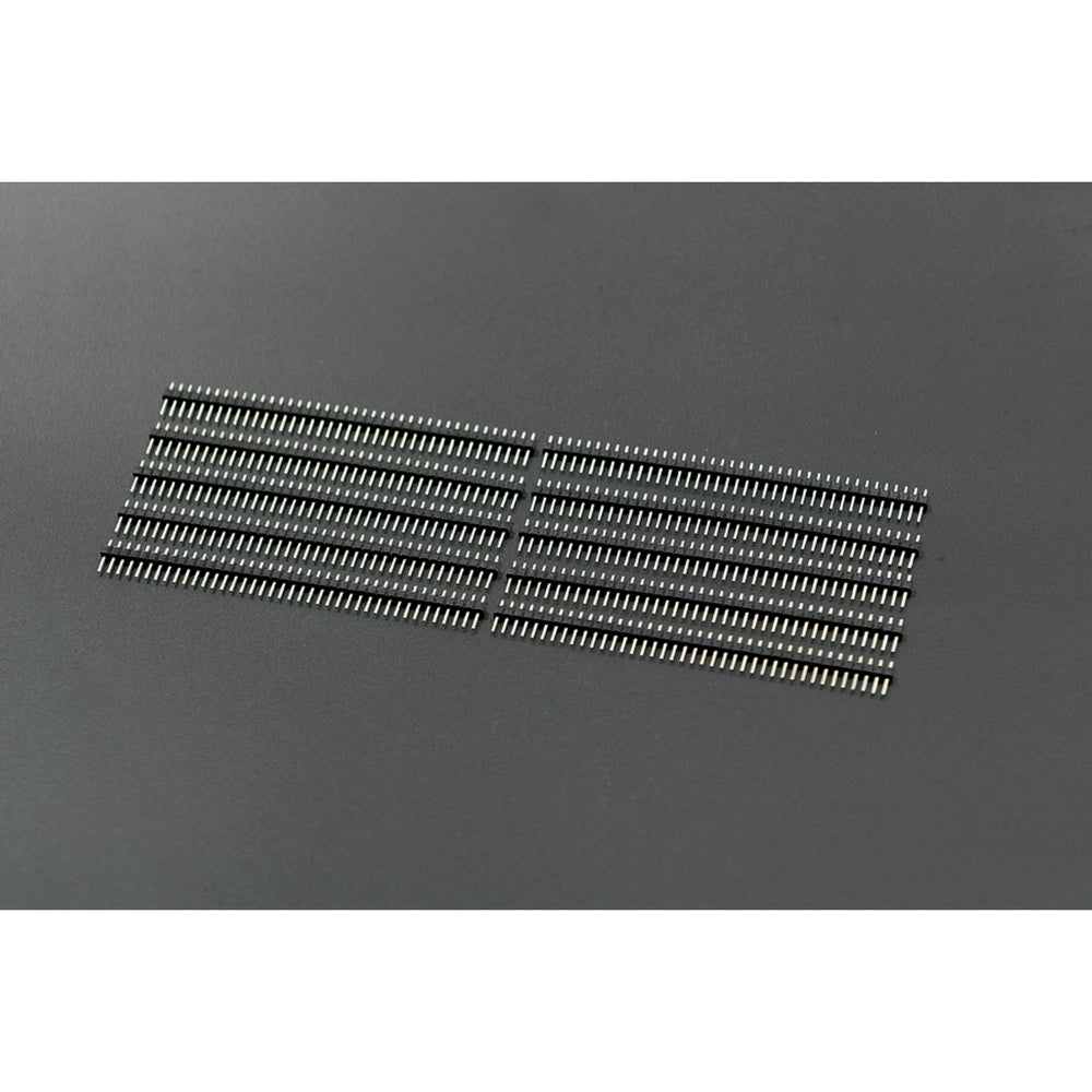 "Arduino Male Pin Headers | 0.1"" (2.54 mm) Straight Black"