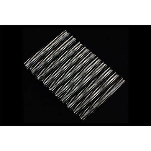 40  Pin Break Away Male Header- Right Angle-10 Pcs