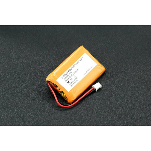 3.7V Polymer Lithium Ion Battery - 1000mAh