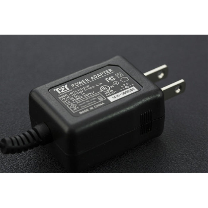 Wall Adapter Power Supply 12VDC 1A (American Standard)