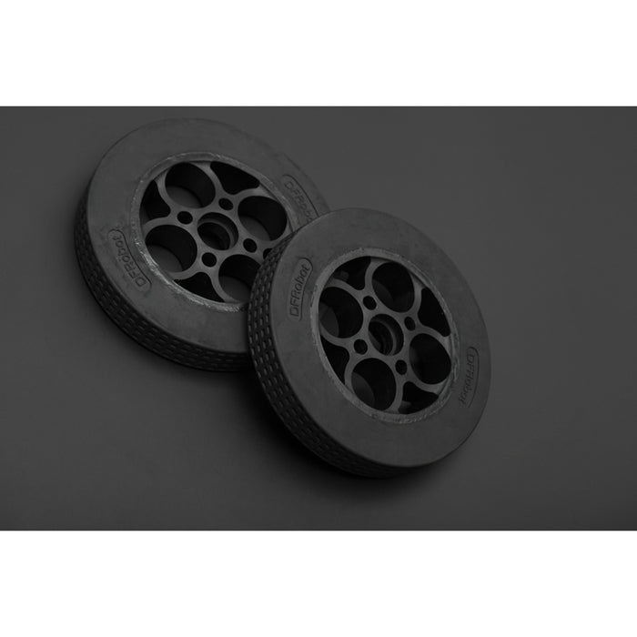 Rubber Wheel 136x24mm (Pair)