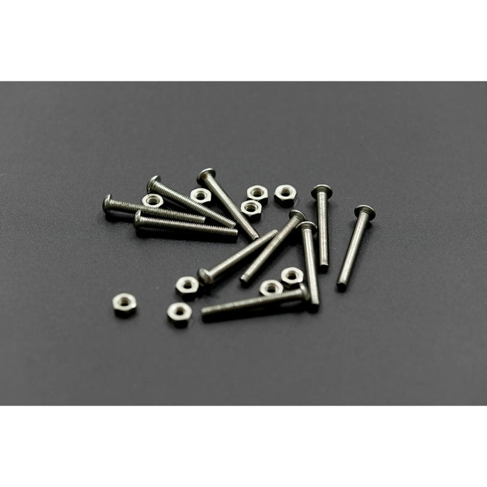 10 sets M3x25 screw low profile hex head cap screw
