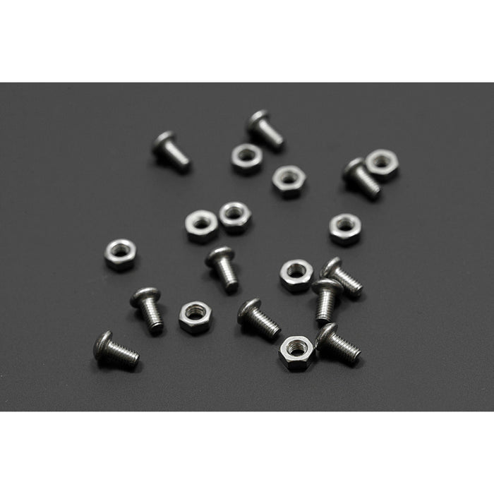 10 sets M3x6 screw low profile hex head cap screw