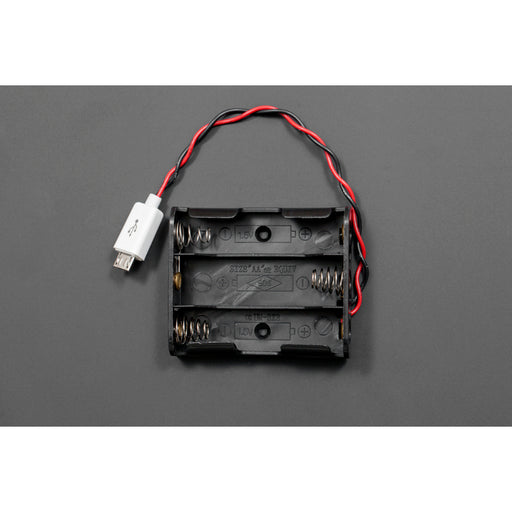 MicroUSB Battery Holder (3xAA)