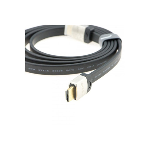 Flat High Speed HDMI Cable (1.5M, Gold Plated)