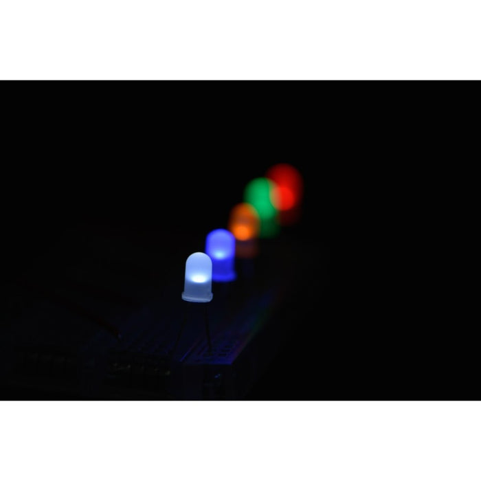 Diffused 5mm LED Pack (50 pcs)