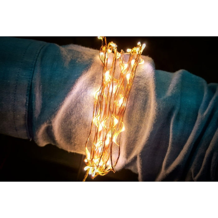 Star Series LED Strand - 100 Warm White Pixels
