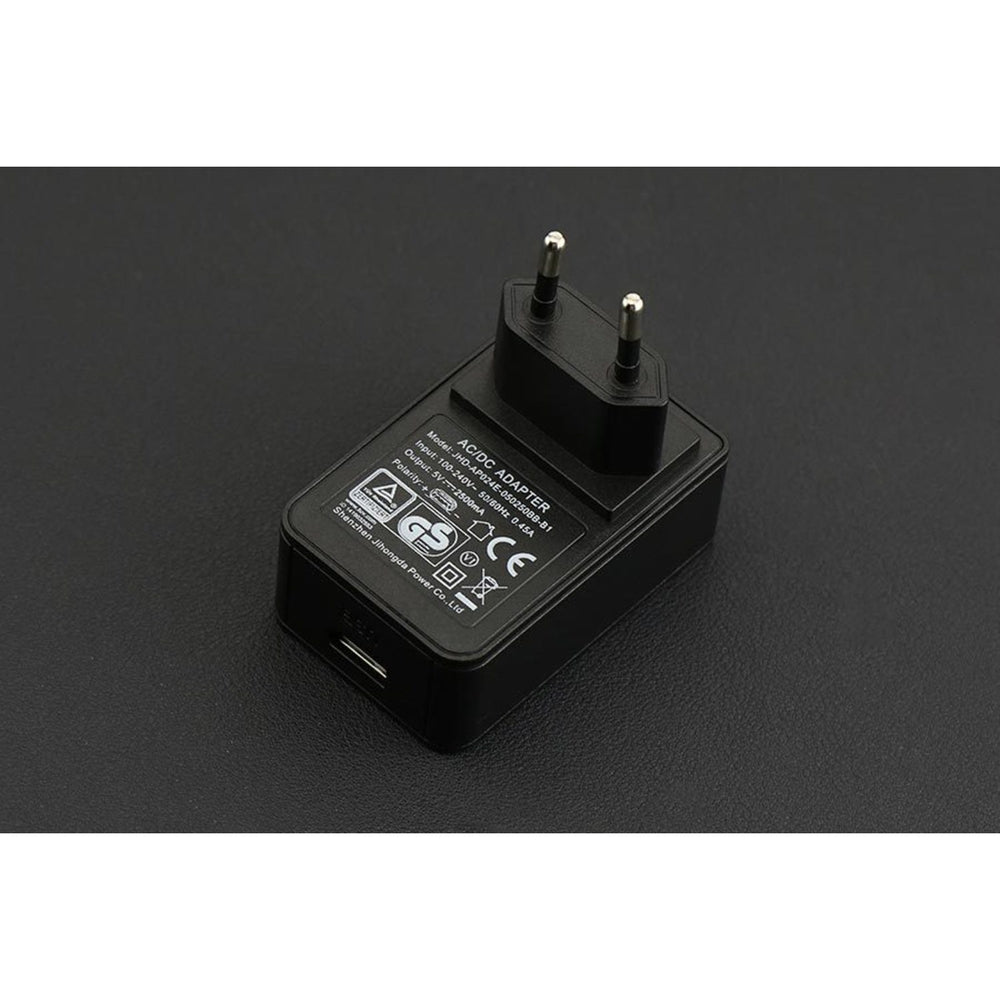 USB Power Supply Wall Adapter 5V@2.5A (EU Standard)
