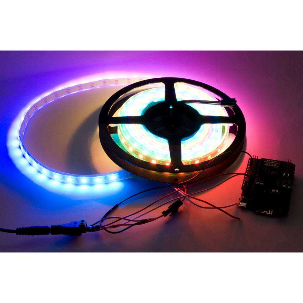 Bluetooth 4.0 RGB LED Strip Kit (Support iPhone & Android)