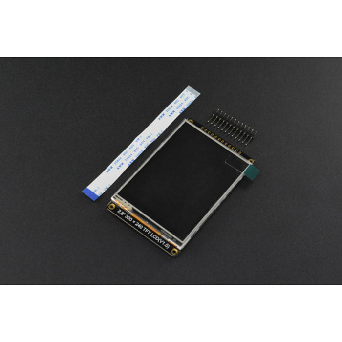 "2.8"" 320x240 IPS TFT LCD Touchscreen with MicroSD"
