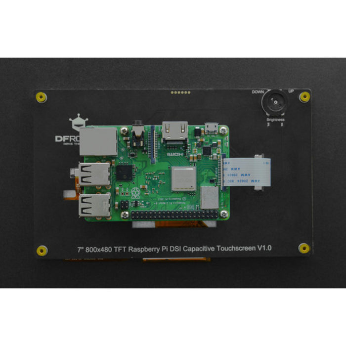"7"" 800x480 TFT DSI Capacitive Touchscreen for Raspberry Pi (V1.0)"