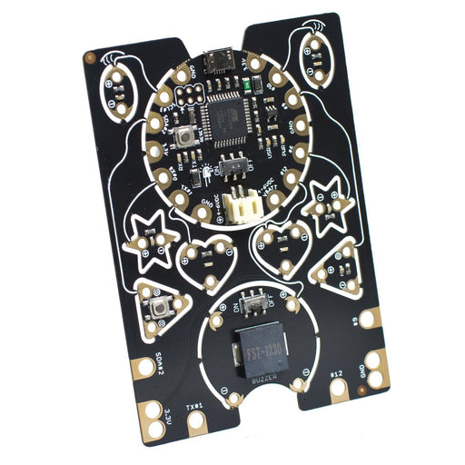 EagLED - Sewable Electronics Kit E-Textile Snippable Board with Buzzer