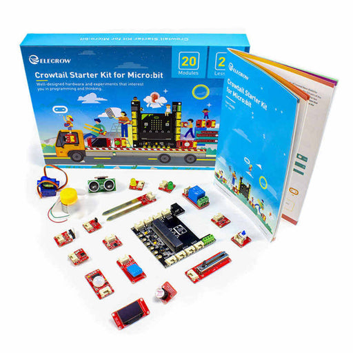 Elecrow Crowtail Learning Starter Kit for Micro:bit 2.0