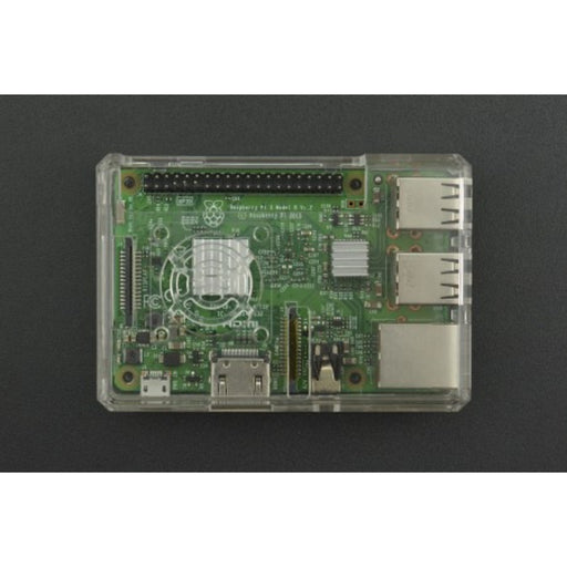 ABS Transparent Case for Raspberry Pi B+/2B/3B/3B+