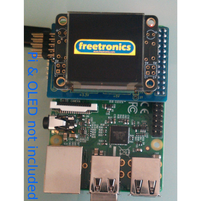 PiScreen OLED adapter for Raspberry Pi