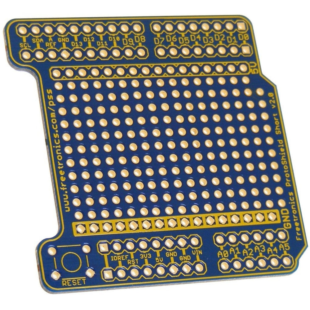 ProtoShield Short for Arduino