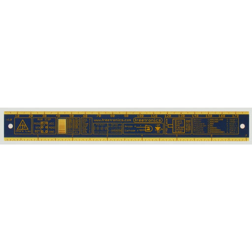 180mm Electronics Ruler