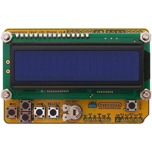 16x2 LCD Shield Kit