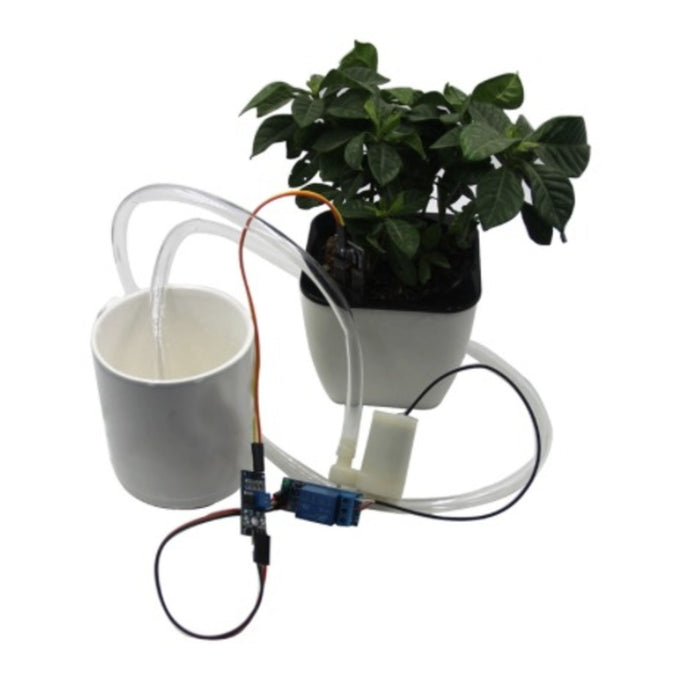 Automatic pot plant watering kit