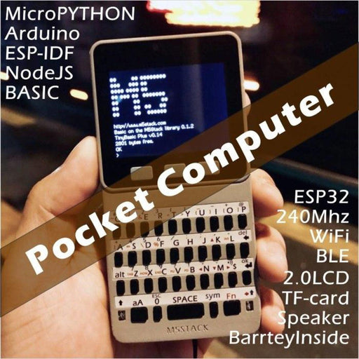 M5 Faces Pocket Computer with Keyboard/Game/Calculator