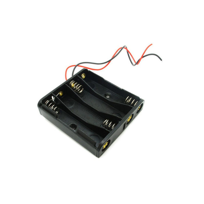 Battery Holder - 4xAAA Square