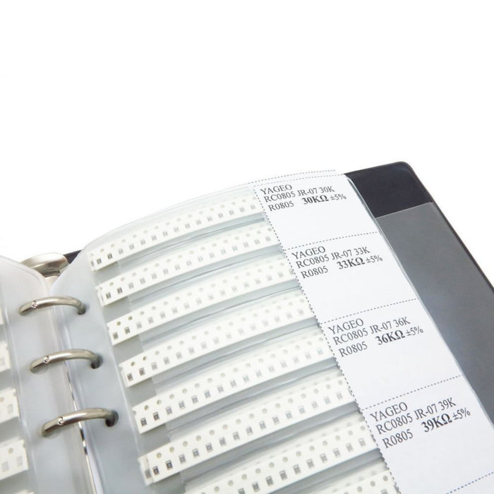 0805 SMT Resistor Sample Book - 8496 Pcs in 177 Values