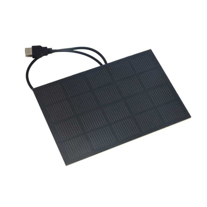 5V 600mA Monocrystalline PET Solar Cell with USB Cable