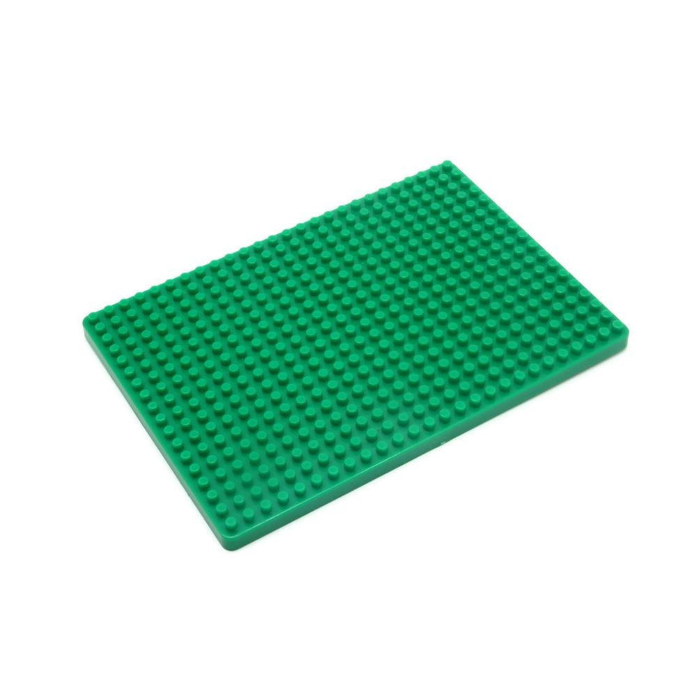 Base Plate For Block Building Breadboard(13.2x9.2cm) - Green