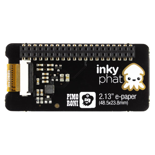 Inky pHAT (ePaper/eInk/EPD) - Yellow/Black/White