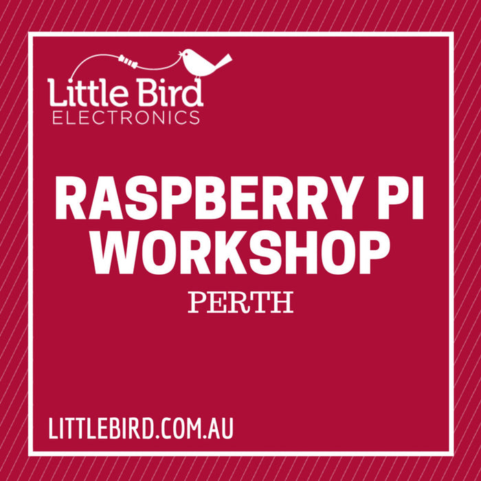 Raspberry Pi Workshop Perth 2017-07-22