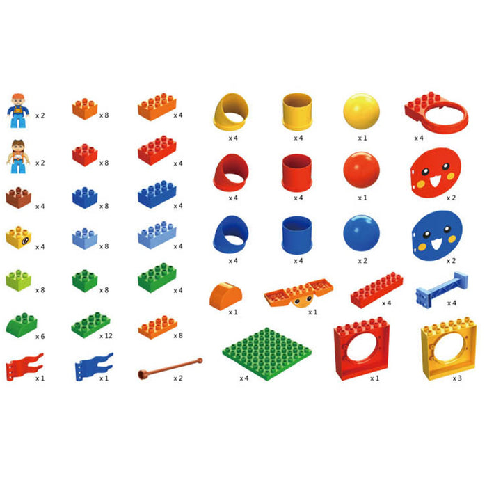 STEM Bird Blocks - Pipes and Tubes