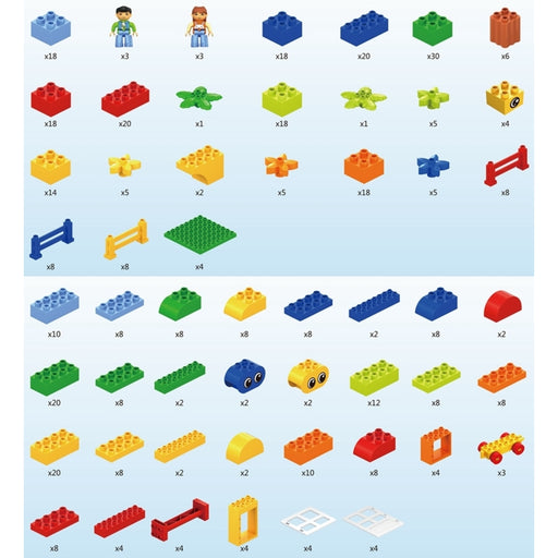Stem Bird Blocks - Starter Set 440 blocks