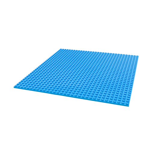 Makerspace building block plate (Blue)