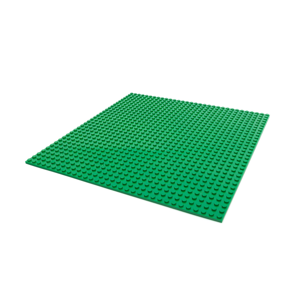 Makerspace building block plate (Green)