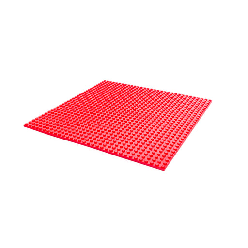 Makerspace building block plate (Red)
