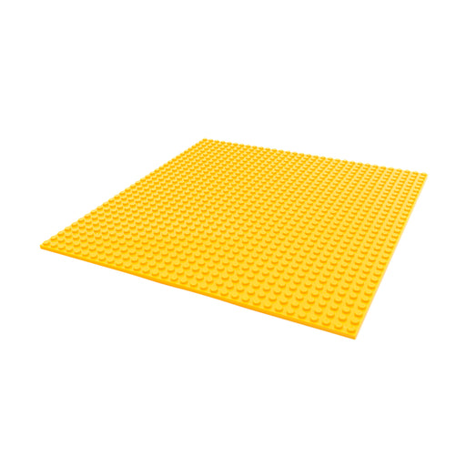 Makerspace building block plate (Yellow)