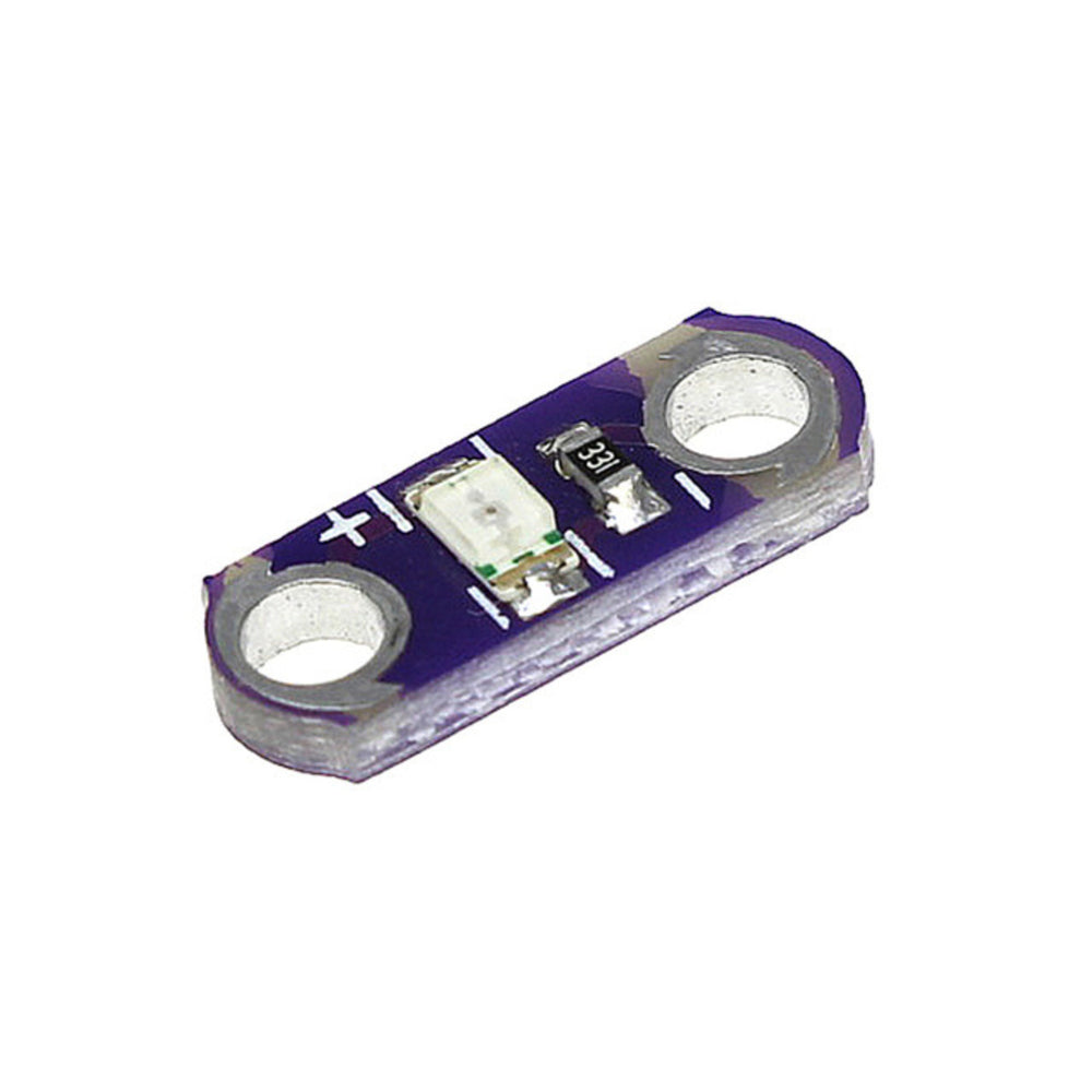 E-textiles LED Module White Single